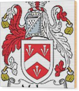 Malpas Coat Of Arms Irish Wood Print