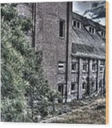 Malt Factory. Wood Print