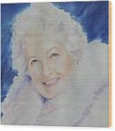 Mama J Wood Print