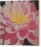 Mama's Lovely Lotus Wood Print
