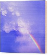 Mammatus Rainbow Of New Mexico Wood Print