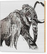 Mammoth Wood Print