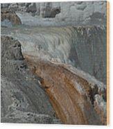 Mammoth Springs 2.0070 Wood Print