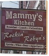 Mammy's Kitchen In Bardstown Kentucky Wood Print