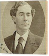 Man, 1874 Wood Print