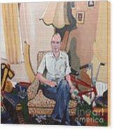 Man At 50... Wood Print