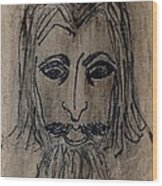Man Wood Print