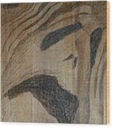 Man Of Sorrows I - Back Wood Print