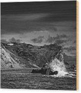 Man O'war Rocks Wood Print