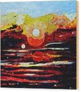Manas Sarovr Lake-11 Wood Print