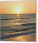Manasota Key Sunset Wood Print