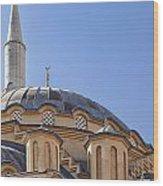 Manavgat Mosque Wood Print