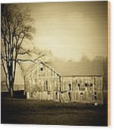 Manchester Barn Wood Print