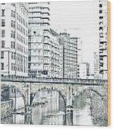 Manchester Wood Print