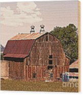Mancos Colorado Barn Wood Print