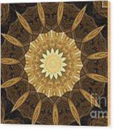 Mandala 014-1 Wood Print