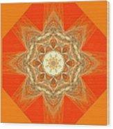 Mandala 014-2 Wood Print