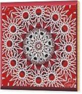 Mandala 014-3 Wood Print