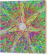 Mandala 1 22 2015 Wood Print