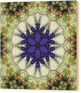 Mandala 114 Wood Print