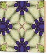 Mandala 115 Wood Print