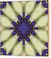 Mandala 118 Wood Print