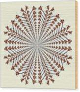 Mandala 12 Wood Print