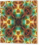 Mandala 133 Wood Print