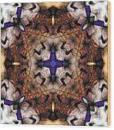 Mandala 17 Wood Print