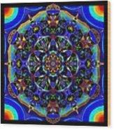 Mandala 2 Wood Print