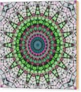 Mandala 26 Wood Print