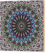 Mandala 33 Wood Print