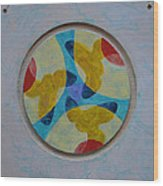 Mandala 4 Ready To Hang Wood Print