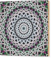 Mandala 40 Wood Print