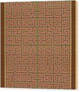 Mandala. 85 Wood Print