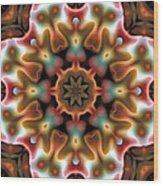 Mandala 95 Wood Print