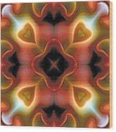 Mandala 98 Wood Print