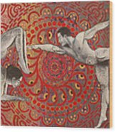 Mandala Dance Wood Print