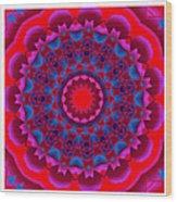 Mandala Dawn Wood Print