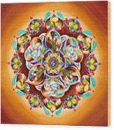 Mandala For Moms Wood Print