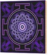 Mandala Hypurplectic Wood Print