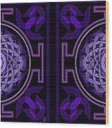 Mandala Hypurplectic - Stereogram Wood Print