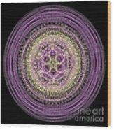 Mandala Of Wisdom Wood Print