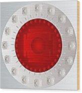 Mandala Pam Wood Print