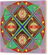 Mandala0504 Wood Print