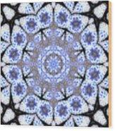 Mandala101 Wood Print