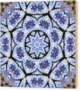 Mandala102 Wood Print