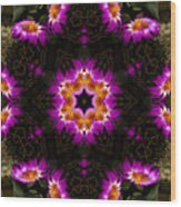 Mandala73 Wood Print