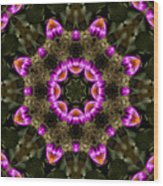 Mandala74 Wood Print