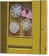 Mandalas Door Wood Print